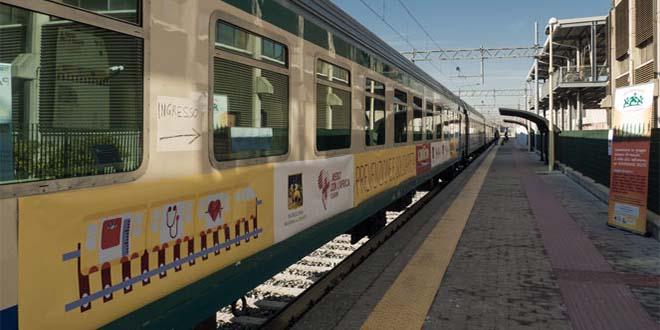 Il Treno della salute di Medici con l'Africa a Vicenza