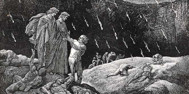 E' passato un bel po' di tempo da quando Dante immaginava il settimo cerchio dell'Inferno...