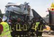 Incidente fra quattro tir sull'A4. Muore un autista