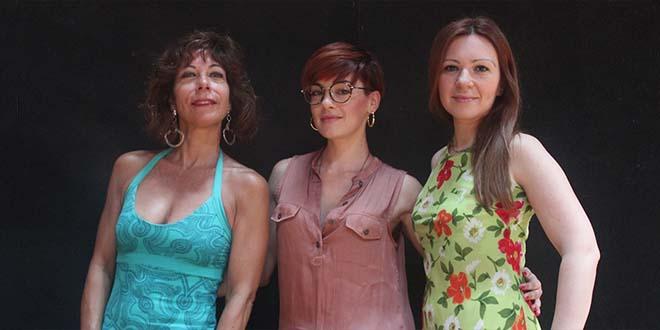 Laura Polverelli, Veronica Granatiero e Michela Antenucci
