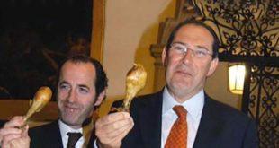 I due governatori. Luca Zaia e Giancarlo Galan