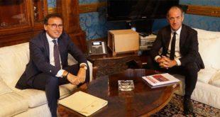Il ministro Francesco Boccia con il governatore del Veneto Luca Zaia