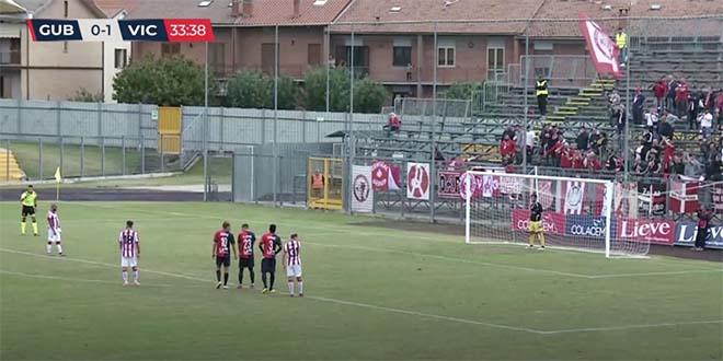 Un bel Vicenza vince a Gubbio