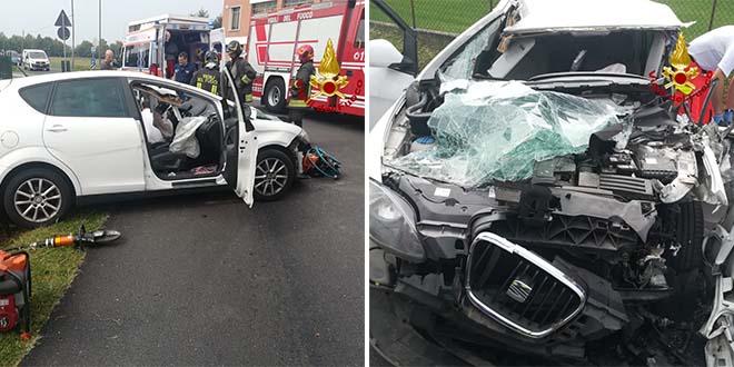 Auto contro camion. Muore donna di 52 anni