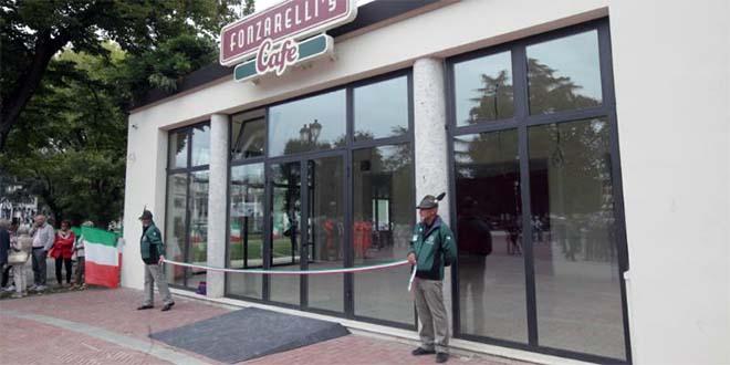 Vicenza, l'ex Caffè Moresco ora sede degli Alpini