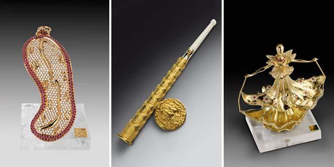 Le sculture gioiello di Salvador Dalì al Museo del Gioiello di Vicenza