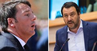 Renzi e Salvini - Foto: Francesco Pierantoni (CC BY 2.0) - European Parliament (CC BY-NC-ND 2.0)