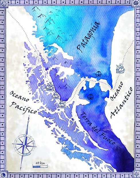 Lo stretto di Magellano
