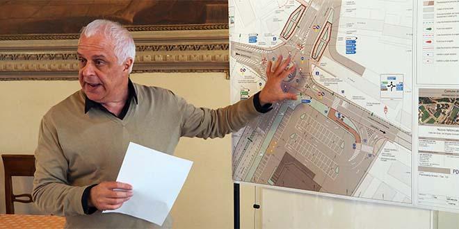 L'ex assessore a mobilità e infrastrutture Claudio Cicero