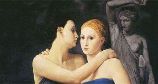 """Ubaldo Oppi, """"Le amiche"""" (1924) - Collezione privata"""