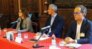 Da sinistra: Cristina Pozzi, Jacopo Berti e Andrea Dusi