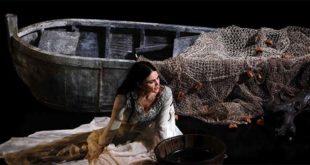 Romina Mondello nei panni di Medea (Foto di Roberto De Biasio)