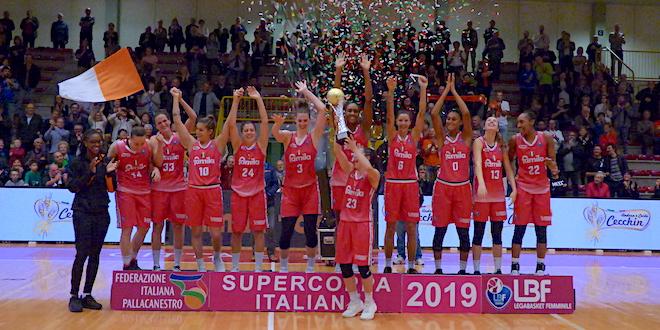 Basket, Ragusa ko. La SuperCoppa va al Famila Schio