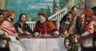Paolo Veronese, Cena di San Gregorio Magno (particolare) - Vicenza, Santuario di Monte Berico