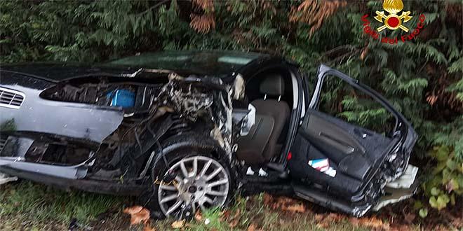 Lonigo, due feriti in un incidente stradale - Vicenzareport