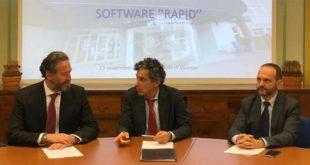 Da sinistra: Giuseppe Iannucci, Giovanni Pavesi e Salvatore Barra