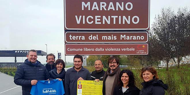 """Marano è """"Comune libero dalla violenza verbale"""""""