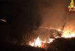 Divampa un incendio sul Monte Grappa