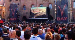 8 settembre 2007, il V-Day di Bologna (Foto di Piero Tasso, da Wikipedia)