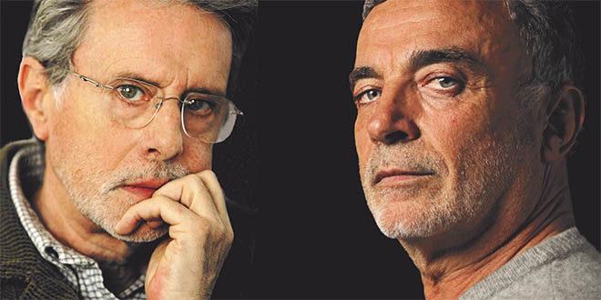 Franco Branciaroli e Massimo De Francovich
