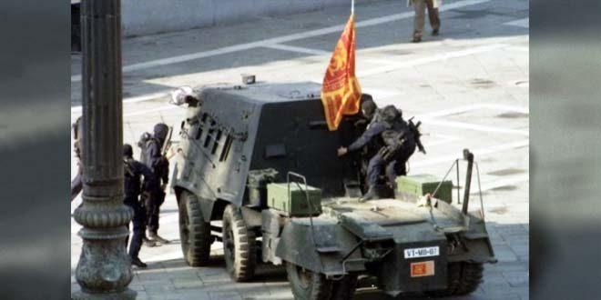 """La cattura del commando dei """"serenissimi"""", a Venezia, nel maggio del 1997"""