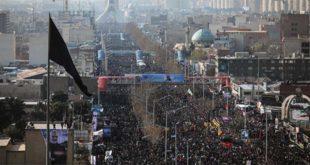 Folla al funerale di Soleimani a Teheran (Foto Mehr News Agency - CC BY 4.0)