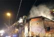 Tezze sul Brenta, a fuoco una casa rurale