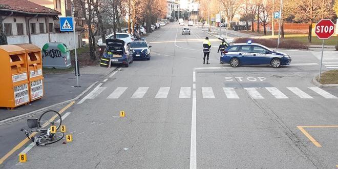 Schio, studentessa 14enne investita da un'auto