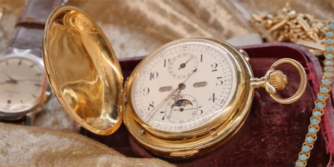 Gli orologi d'epoca in mostra a Vicenzaoro