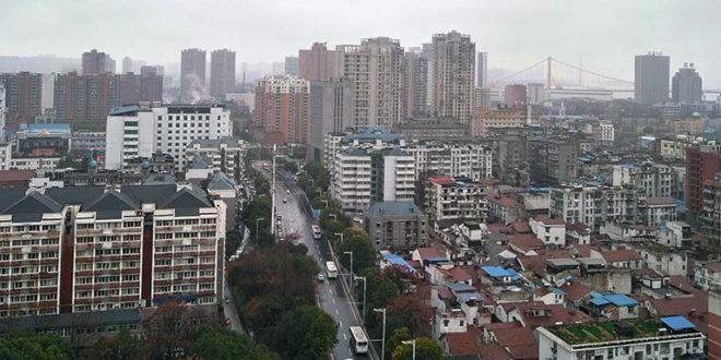 La metropoli cinese di Wuhan, epicentro dell'infezione da coronavirus