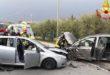 Scontro fra auto, sei feriti con due bimbi piccoli
