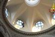 Chiesa di Araceli, cade un vetro della cupola