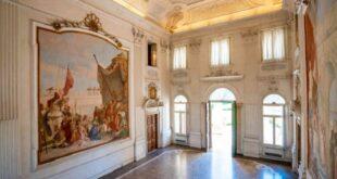 Villa Cordellina Lombardi - Salone con affreschi del Tiepolo