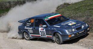 Team Bassano Bruno Bentivogli-Andrea Cecchi, Ford Sierra Cosworth #208