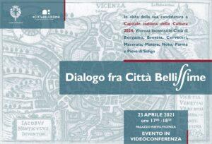 Vicenza dialogo fra città bellissime