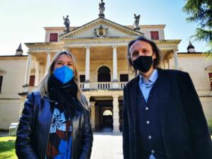 Alessia Bevilacqua Sindaco Città di Arzignano con Alessandro Anderloni