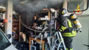 Chiampo incendio (4)