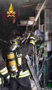 Chiampo incendio (5)