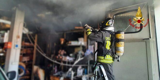 Chiampo: divampato un incendio