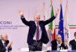 Malagò rieletto presidente Coni