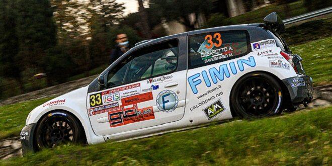 Andrea Casarotto al Rally Bellunese