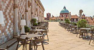 La terrazza della Basilica