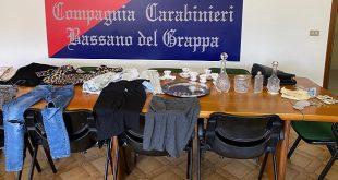 Carabinieri denunciano in stato di libertà tre donne