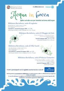 Vicenza: Acqua in bocca, letture per bambini