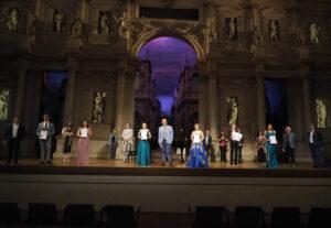 Vincitori del Concorso lirico Tullio Serafin - 14 giugno 2021 Teatro Olimpico - foto Colornova Artigiana