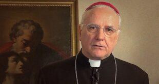Il saluto ai frati francescani