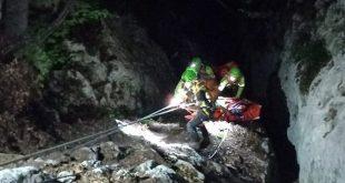 CNSAS Veneto escursionista ferito