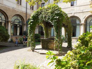 giardino estivo Biblioteca Bertoliana