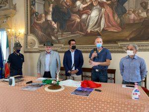 Da sinistra: Paolo Marchetti, Luciano Cherobin, Francesco Ruco, Giuliano Negretto, Marco Zocca