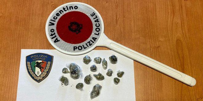 Polizia Locale Alto Vicentino di Schio: spaccio di sostanze stupefacenti